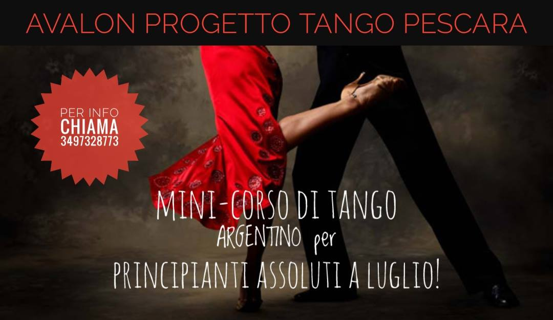 corso avalon progetto tango pescara
