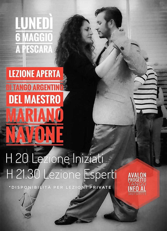 Zuleika Fusco e Mariano Navone - Avalon Progetto Tango Pescara