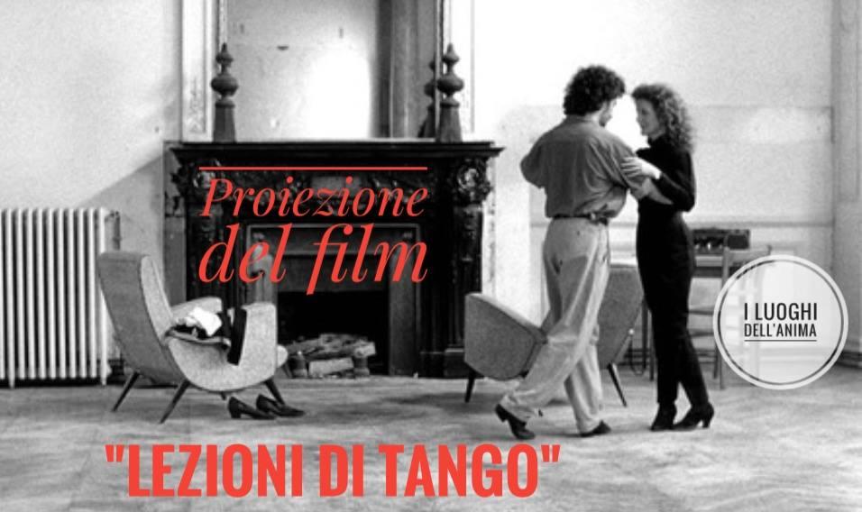 Proiezione del Film Lezioni di Tango-luoghi-anima-pablo veron - libreria i Luoghi dell'Anima