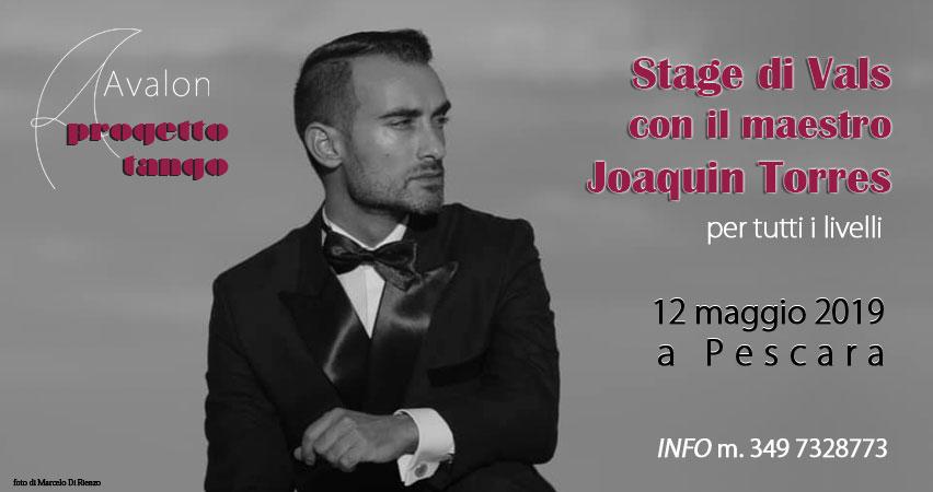 Stage di Vals con Joaquin Torres - Avalon progetto Tango Pescara