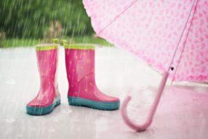 pioggia rosa